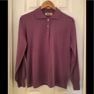 🌿Lavender Sweater Made in Italy M